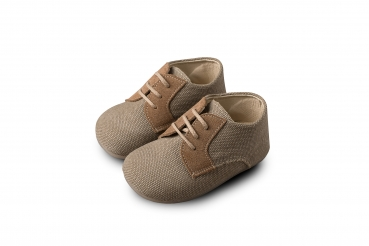 Babywalker Taufschuhe ???? ?????????? BROGUES ?????? CANVAS