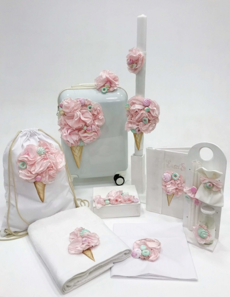 Taufkiste FLOWER ICECREAM TROLLEY - Elena Manakou